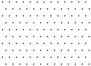 Inpakpapier | Kadopapier Hartjes Black