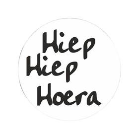 Stickers 10x| Hiep Hoera