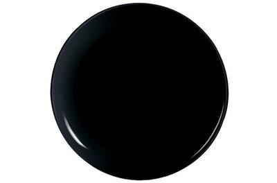 Zwart pizzabord
