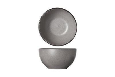 SPECKLE WHITE (CREME) KOMMEN 6 STUKS    Afmeting: 14 x 7,2 CM Kleur: zwarte rand en gespikkeld creme