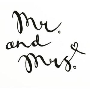 Photoblock  MR & MRS.