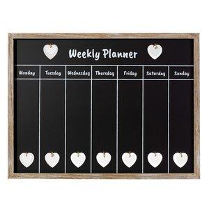 Krijtbord Weekplanner