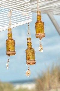 Fles Hang Schelp/Touw Oker J-Line