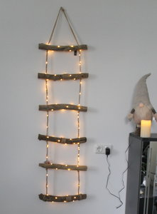 ladder met licht en timer
