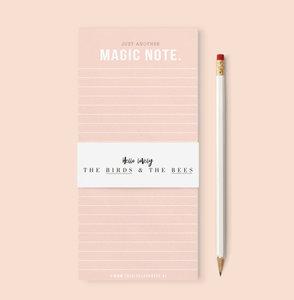 MAGIC NOTE | NOTEBLOCK