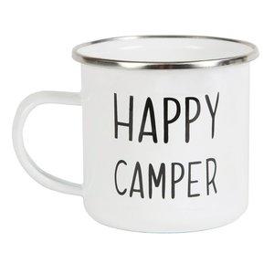 HAPPY CAMPER EMAILLE MOK