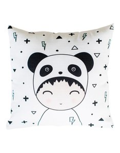 Kussen Panda jongen en patroon