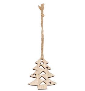 Kerstboom Hout | plat