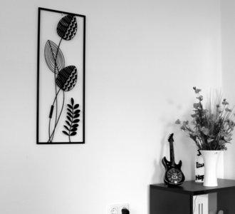 zwart wit wanddecoratie