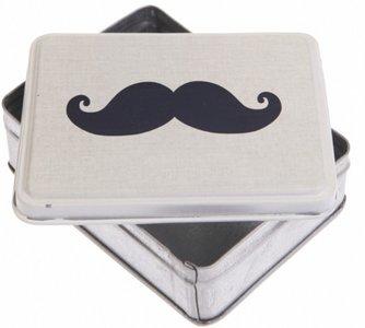 Opbergblikje Moustache
