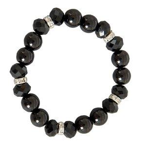 Armband | zwarte kralen | van Countryfield