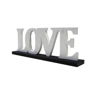 Tekstbord LOVE staand
