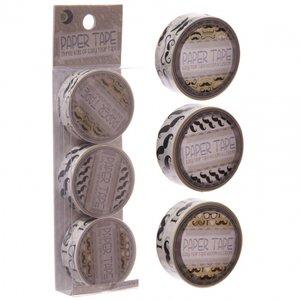 Gratis bij een bestelling van €30,00 | Set Masking Tape Snor