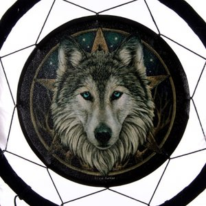 Dromenvanger | Wolf | 33 cm.