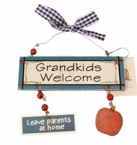 Tekstbordje | Vintage | Grandkids