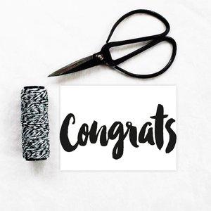 Kaart Congrats