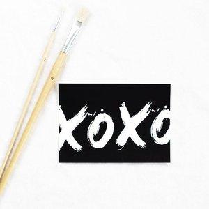 Kaart XOXO