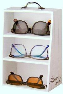 Etagekastje voor brillen   Brillenkastje