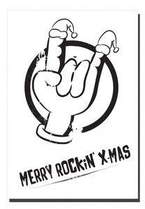 Kerstkaart | Poster | A5 | Rockin
