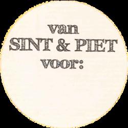 Stickers   10x   Van Sint en Piet...