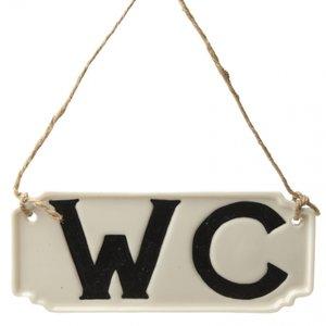 Tekstbordje   W.C.