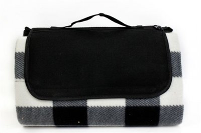 Picknickdeken | Zwart Wit