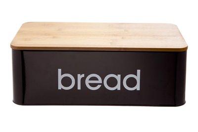 broodtrommel zwart met snijplank