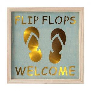 Tekstbord | Led licht | Flip-Flops