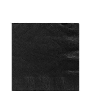 Servetten |  zwart 25cm