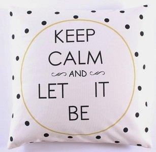Kussen | Overtrek | Keep Calm