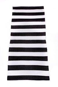 Vloerkleed IN/OUT |Zwart-Wit
