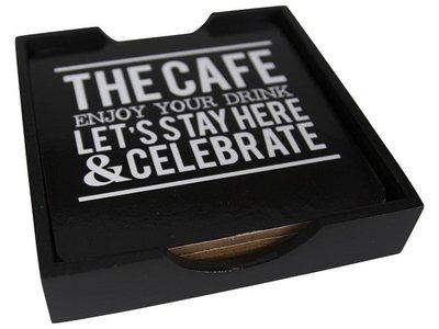 ONDERZETTERS  THE CAFE