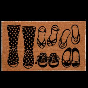 Deurmat schoenen