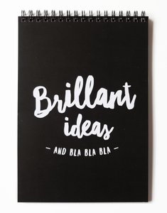 Noteblok BRILLANT IDEAS