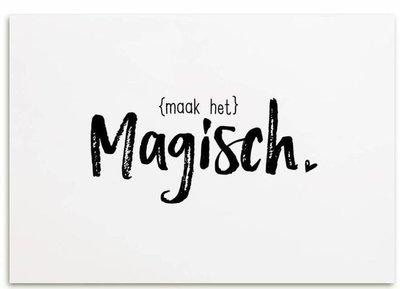 """Kaart """"Maak het magisch"""""""