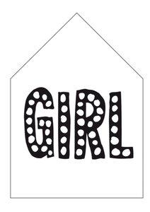 Dots Lifestyle | GIRL | zwart/wit