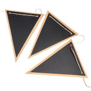 Vlaggetjes DIY | Krijtbord | Driehoek
