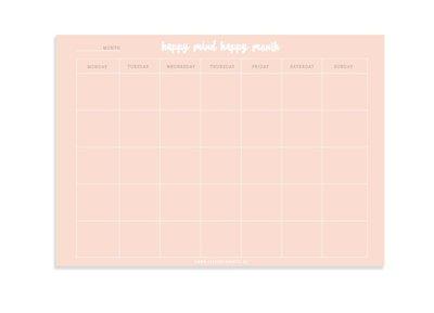 Maandplanner |Mind |  B & B