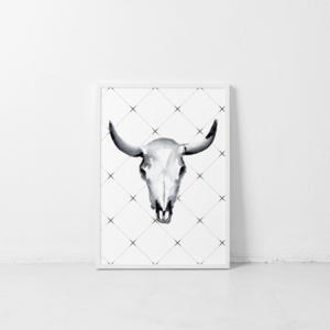 Poster 2 in 1 | Bull | DEER