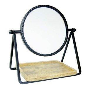 Spiegel met plateau