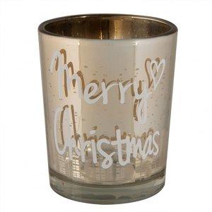 Kerst Theelichthouder Gold