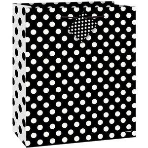 Cadeautasje |Stippen Z/W