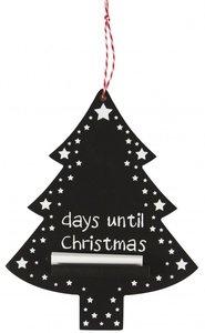 Kerst | Krijtbord ... dagen tot Kerstmis