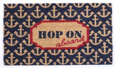 Deurmat | Hop on board