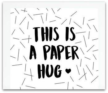 Kaart | This is a paper hug