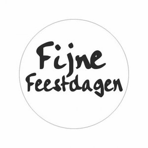 Stickers |Feestdagen | 10 x