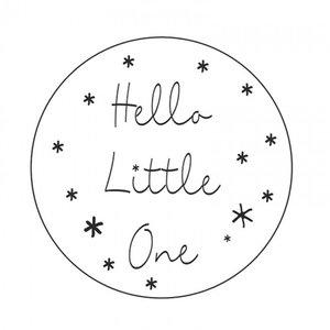 Stickers | hello little one  | 5 X