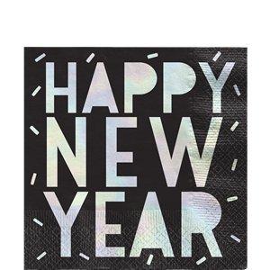 Servetten| HAPPY NEW YEAR / Glitter Ball
