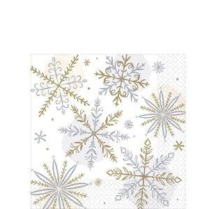 Servetten  Let it snow