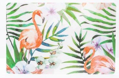 Placemat Flamingo Tropical Set 2